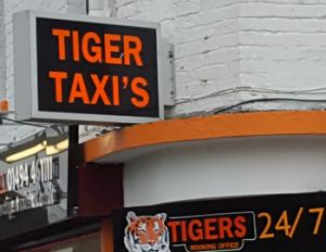 tigers taxis with apostrophe problem